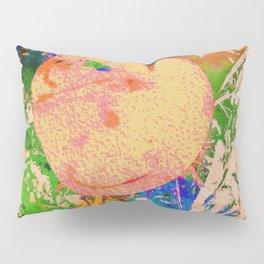 Mushrooms and Mulch Abstract Pillow Sham