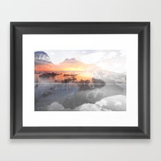 Rise Above Framed Art Print