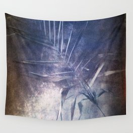 STILL LIFE WITH A PALM BRANCH. Film photography. Wall Tapestry
