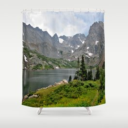 Indian Peaks Wilderness, Colorado Shower Curtain