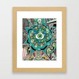 In between moments Framed Art Print