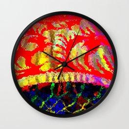 Seurat's Bridge Wall Clock