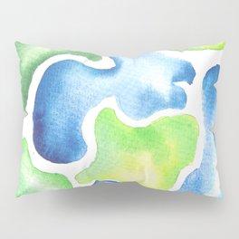 170623 Colour Shapes Watercolor 5  Abstract Shapes Drawing   Abstract Shapes Art Pillow Sham