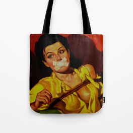 Gagged Tote Bag