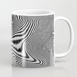Zebra Topography Coffee Mug