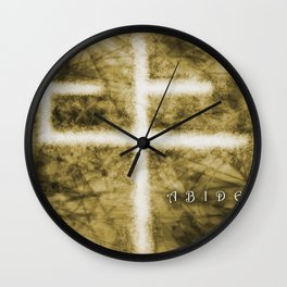 Abide Sepia Wall Clock