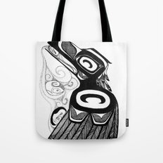 Raven Steals the Water Tote Bag