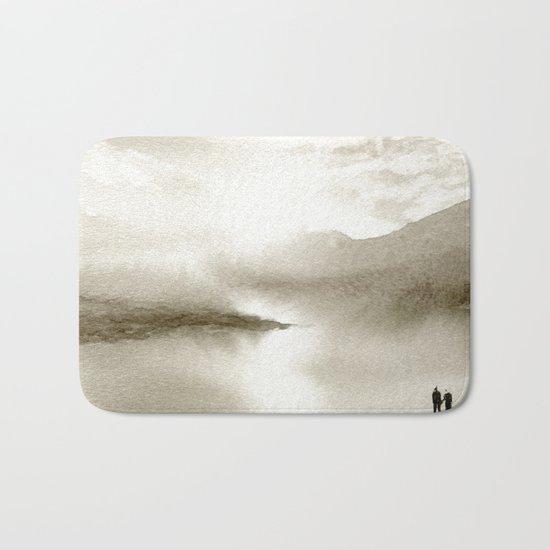 Sepia Light Bath Mat