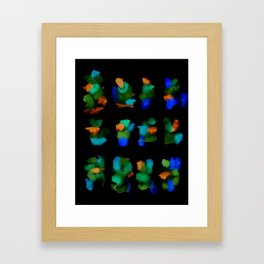 160122 Summer Shadows #65 Framed Art Print
