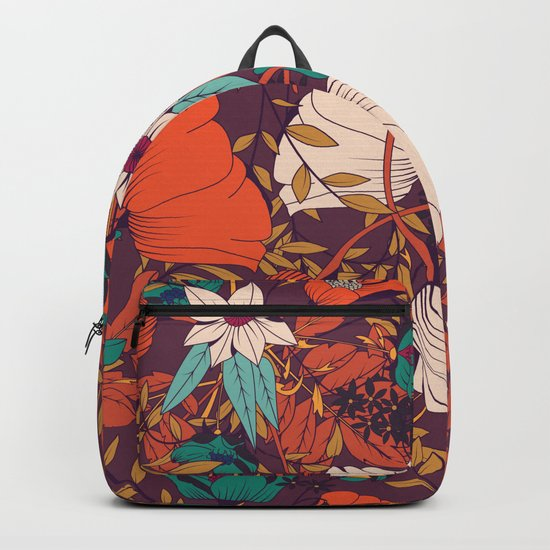 Botanical pattern 010 Backpack