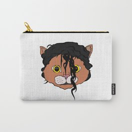 MJ Cat Head Carry-All Pouch