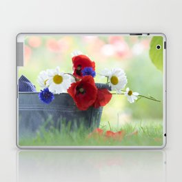 Poppies Symphonies Laptop & iPad Skin