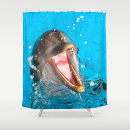 Because I'm Happy Shower Curtain