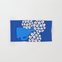 Abstraction_FLORAL_Blossom_001 Hand & Bath Towel