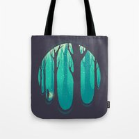 lonely Tote Bags featuring Lonely Dream by Robson Borges