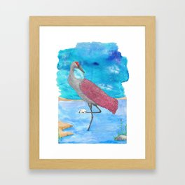 Artist Crane Framed Art Print