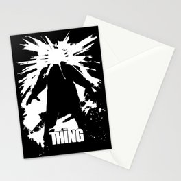 The Thing - John Carpenter Stationery Cards