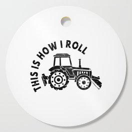Tractor Farmer Agriculturer Farm Farming Gift Idea Cutting Board