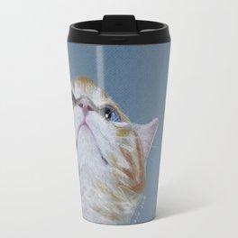 Juno. The Bird Catcher. Pastel Kitten Travel Mug