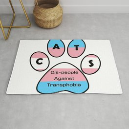 Cis-people Against Transphobia (CATS) Rug