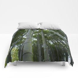 Bambu forest Comforters