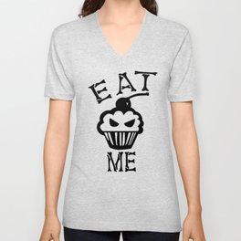 Eat me Unisex V-Neck