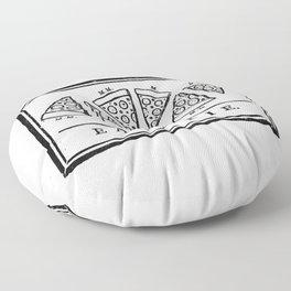 Eat, or Die Floor Pillow