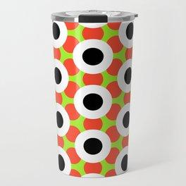 Modern Times 2.0 Pattern - Design No. 9 Travel Mug