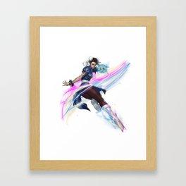 Chun - li version 1.1 Framed Art Print