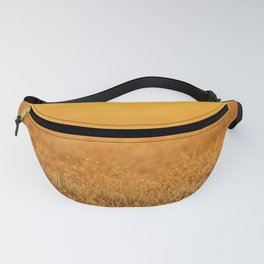 Sunrise Panoramic Spring background Fanny Pack