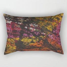 Corner Splatter # 12 Rectangular Pillow