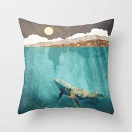 Light Beneath Throw Pillow
