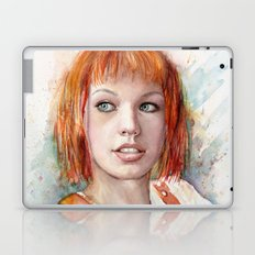 Leeloo Portrait Fifth Element Art Laptop & iPad Skin