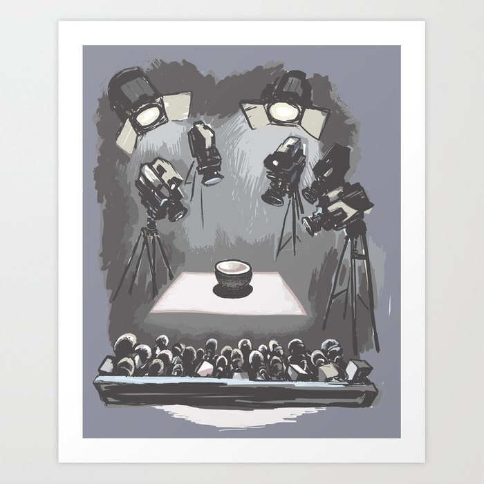 bowl Art Print