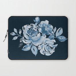Country Rose on Indigo Laptop Sleeve