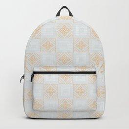 Vintage Gold Tile Backpack