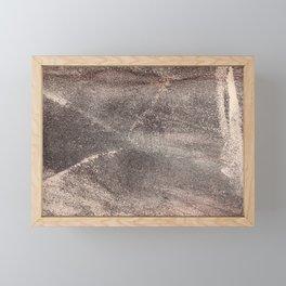 Sandpaper Texture Framed Mini Art Print