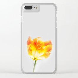 Spring Flame Clear iPhone Case
