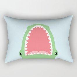 croc attack Rectangular Pillow