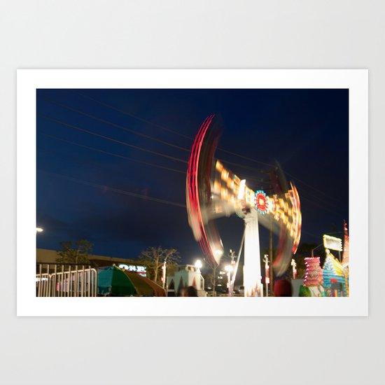 Los Angeles Fair Art Print