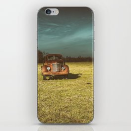 Lost In Time Truck Travel iPhone Skin