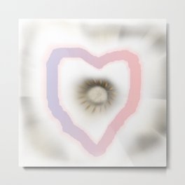 Love you and me Metal Print