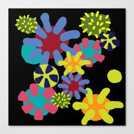 Undersea wonderworld Canvas Print