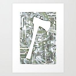 Shining Art Print