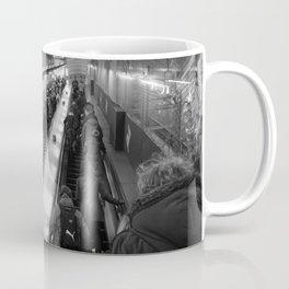 faceless escalators Coffee Mug