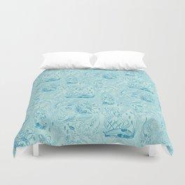 Le Grand Bleu Duvet Cover