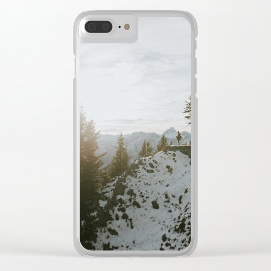 Taking in the view - Landscape Photography Clear iPhone Case