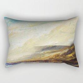 Irish landscape.acrylic on canvass Rectangular Pillow