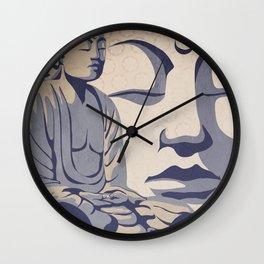Zen Buddha: Awakened and Enlightened One Wall Clock
