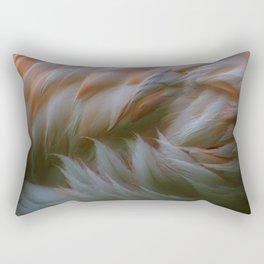 flamingo concentrate Rectangular Pillow